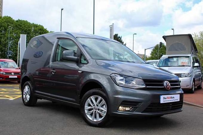 Volkswagen Caddy 2.0 TDI 102PS C20 Highline BMT (NAV) Delivery Mileage